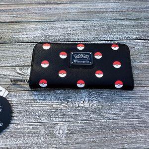 Lounge Fly Pokemon Zip-Up Wallet